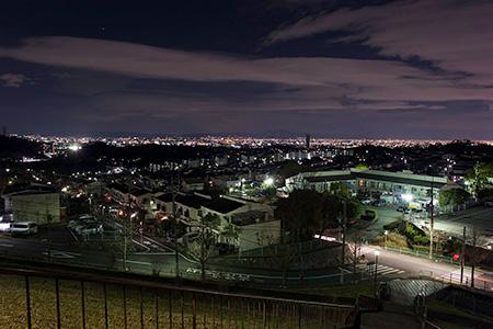 山手台中央公園の夜景