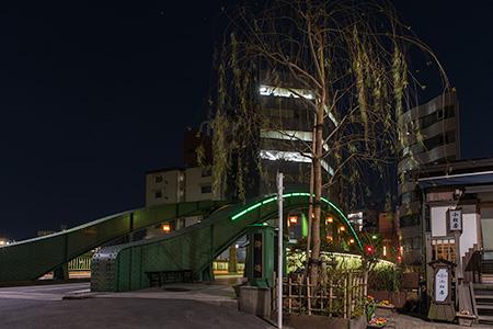 柳橋の夜景