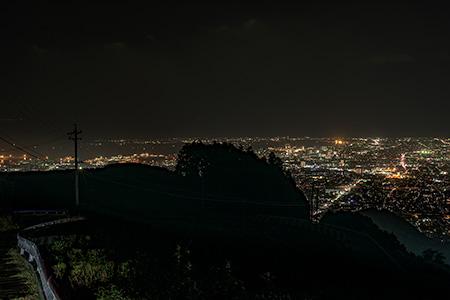 山原の夜景