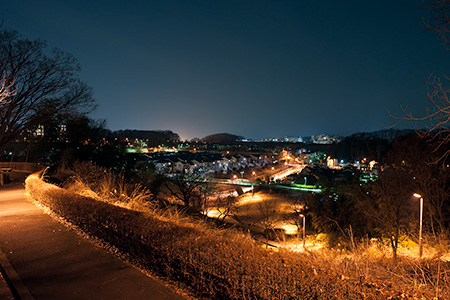 鑓水公園の夜景