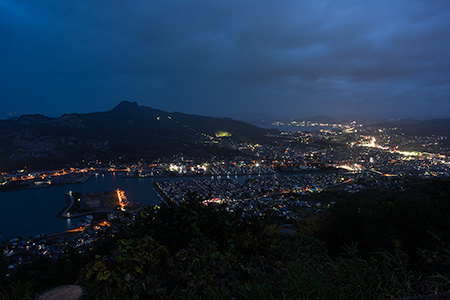屋島 談古嶺の夜景