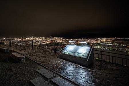 屋島 獅子の霊巌の夜景
