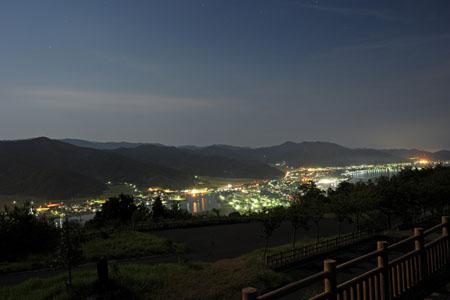 安らぎ公園の夜景