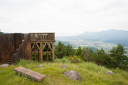 矢岳高原 展望台の夜景