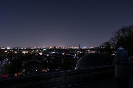 八幡神社の夜景