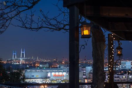 横浜山手町の夜景