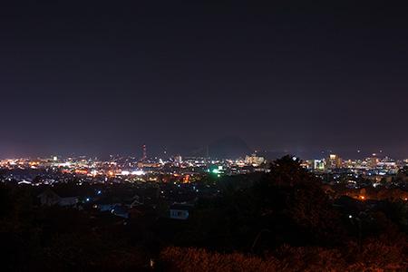 吉田松陰誕生地の夜景