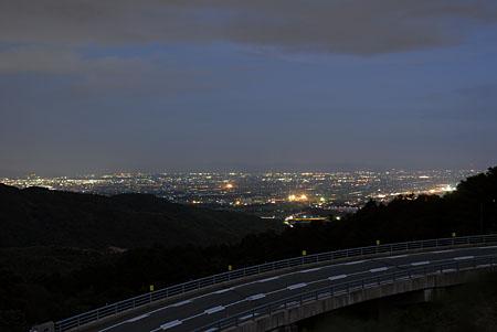 道の駅 吉野ヶ里の夜景