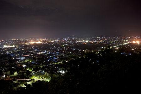 吉野山公園の夜景
