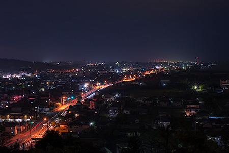 四ツ山公園の夜景