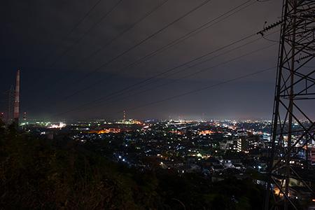 四ツ山神社の夜景