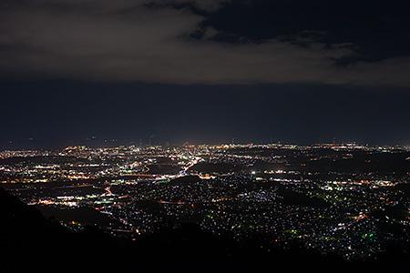 霊山 青年の家跡地の夜景
