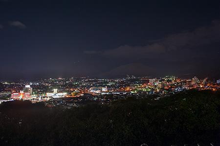 湯けむり展望台の夜景