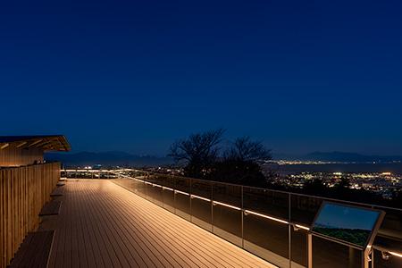 日本平夢テラスの夜景