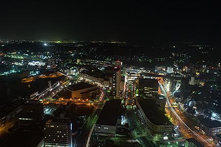 海峡ゆめタワーの夜景