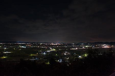 夢の森公園の夜景