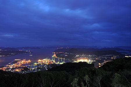 夜景100選「弓張岳展望台」