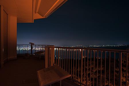 湯之平展望所の夜景
