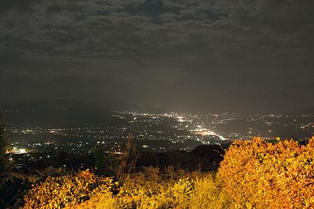 湯楽里館の夜景