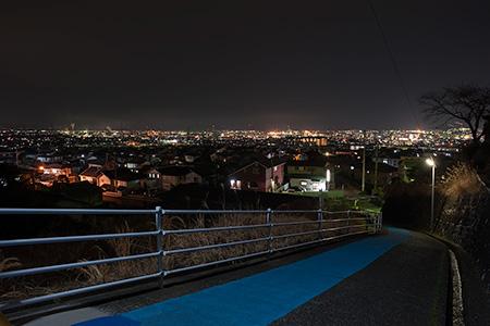 百合ヶ丘の夜景
