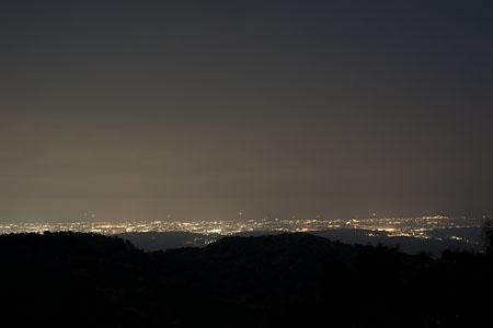 夕霧峠の夜景