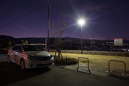王寺スカイヒルズ ゆうやけ公園の夜景