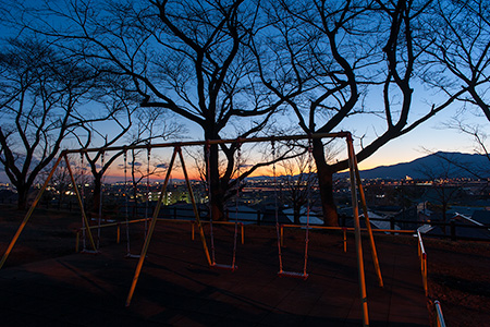座間公園の夜景