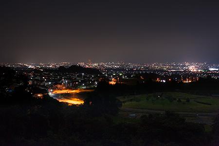 ミュージアムパーク 展望台の夜景