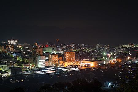 象頭山 気晴らしの丘の夜景