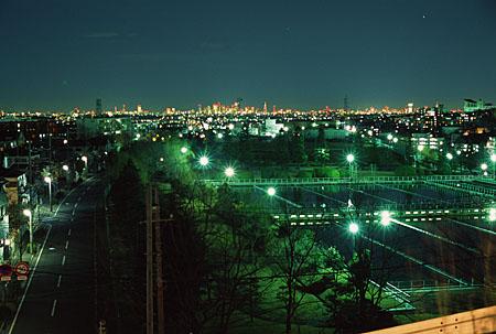Z坂の夜景