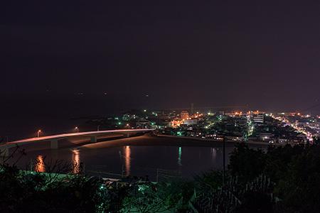 瑞龍寺近くの夜景